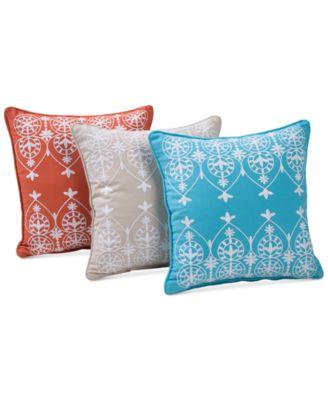 """Victoria Classics Royale 16"""" Square Decorative Pillow"""