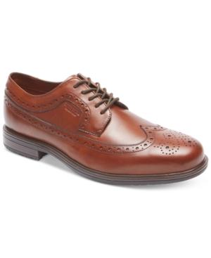Rockport Men's Essential Details Ii Wing Tip Waterproof Oxfords Men's Shoes