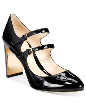 Nine West Academy Mary Jane Block-Heel Pumps Women's Shoes
