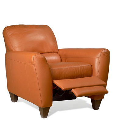 Almafi Leather Recliner Furniture Macy S