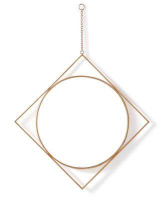 Home Design Studio Diamond Pendant Mirror, Only at Macy's