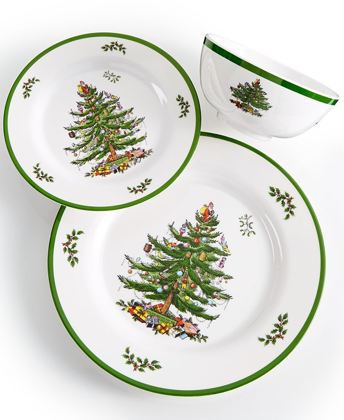 Spode - Christmas Tree Melamine Collection
