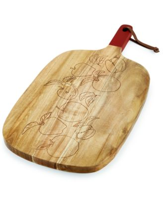 Martha Stewart Collection Apple-Etched Cutting Board, Only at Macy's