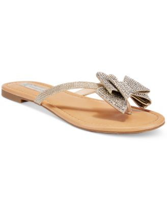 Mabae Bow Flat Sandals, Created
