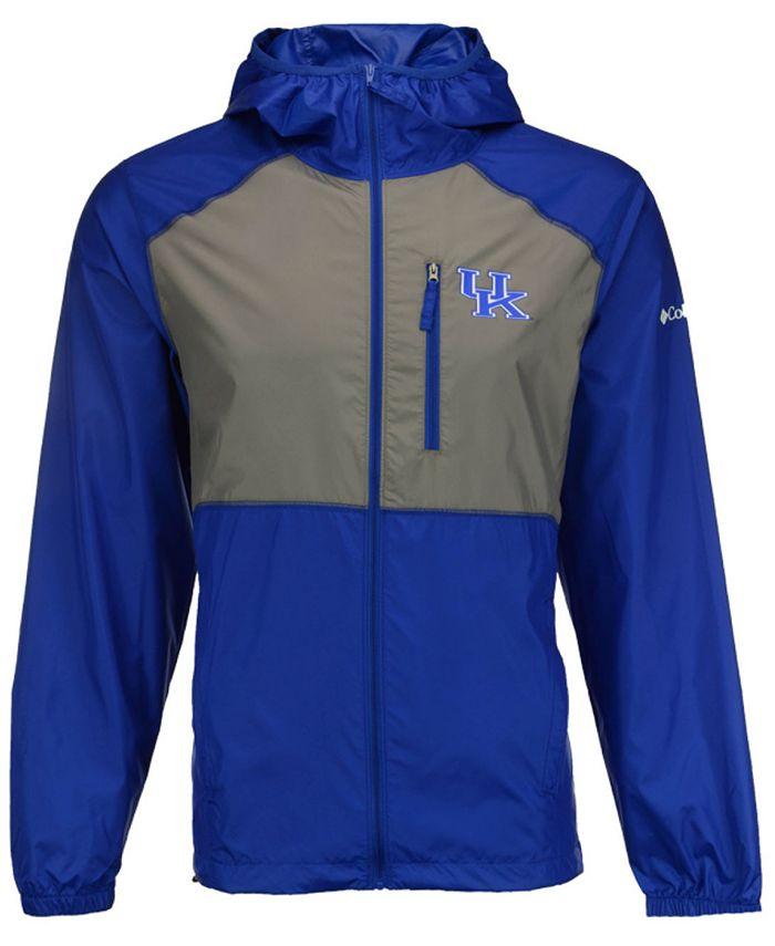 Columbia - Men's Kentucky Wildcats Flash Forward Windbreaker Jacket