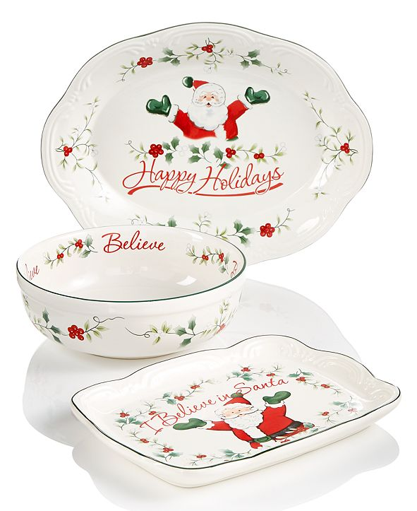 Pfaltzgraff Winterberry Serveware Collection
