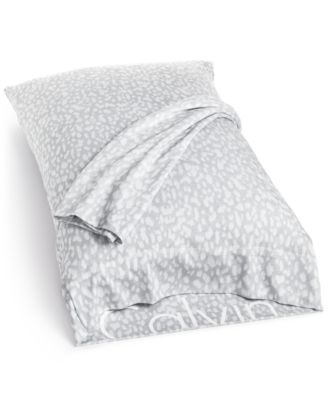 Calvin Klein Modern Cotton Print Standard Pillowcases, Set of 2