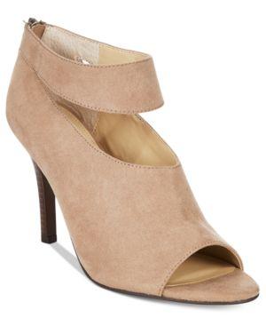 Adrienne Vittadini Gratian Peep-Toe Shooties Women's Shoes