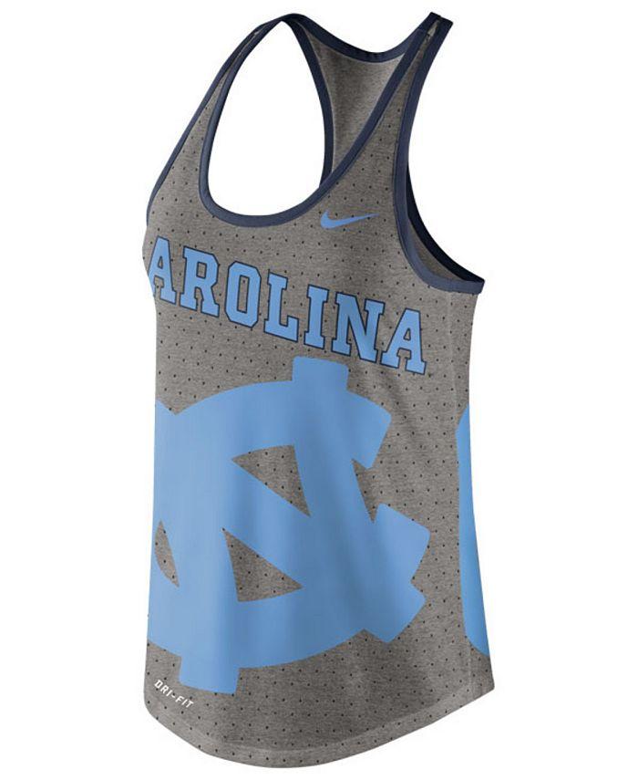 Nike - Women's North Carolina Tar Heels Dri-Blend Gear Up Tank