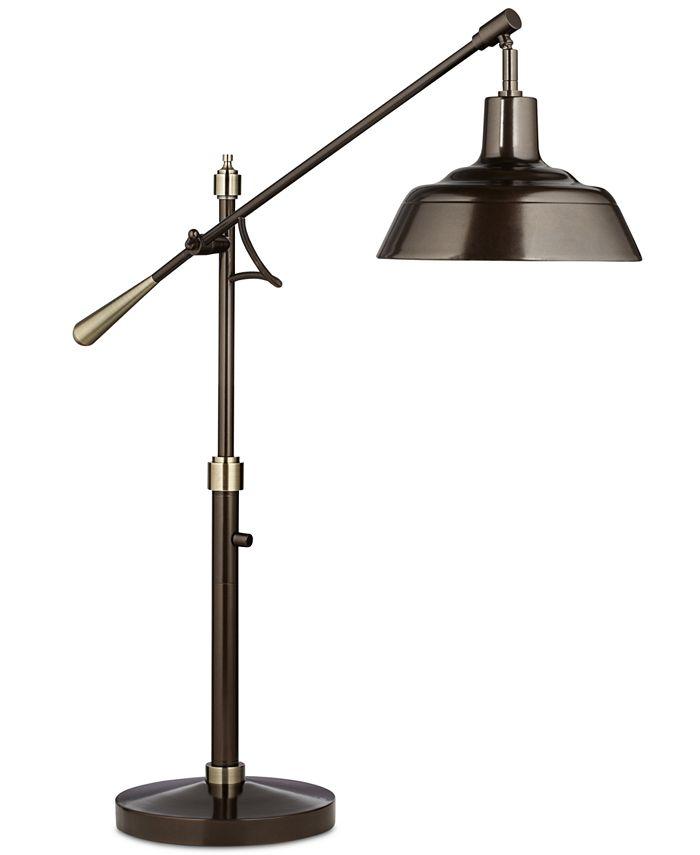 Kathy Ireland - Adjustable Downbridge Table Lamp