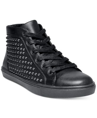 Levels Studded High-Top Sneakers