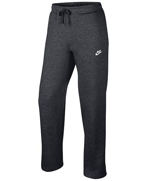 Nike Men's Open-Hem Sweatpants & Reviews - All Activewear ...