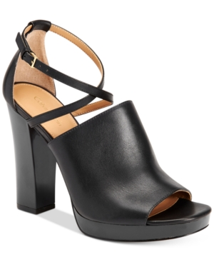 Calvin Klein Women's Baida Strappy Platform Sandals Women's Shoes