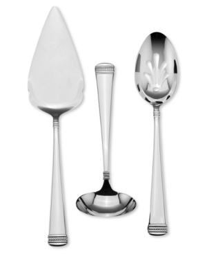 "The London Collection by Wedgwood ""Notting Hill"" 3 Piece Serving Set"