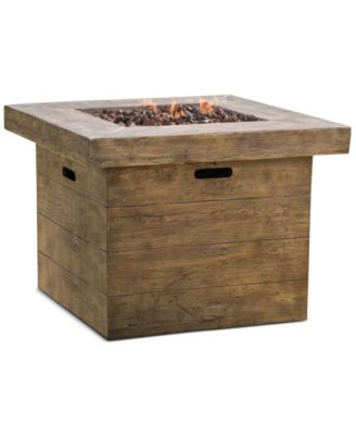 Garba Gas Fire Pit, Direct Ship
