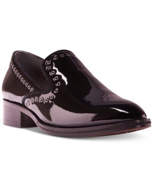 Donald J Pliner Galia Smoking Flats Women's Shoes