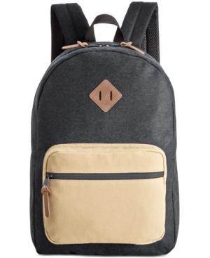 American Rag Men's Black Backpack,  Only at Macy's