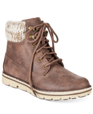 Cliffs by White Mountain Kansas Lace-Up Booties Women's Shoes