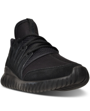 adidas Men's Originals Tubular Radial Mono Casual Sneakers from Finish Line