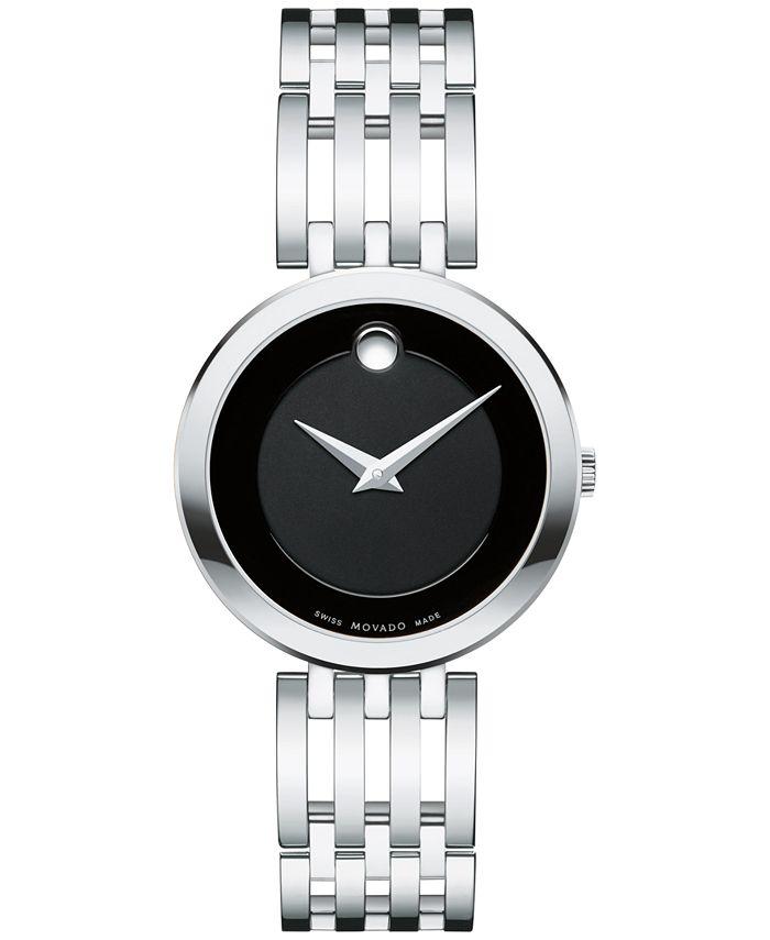 Movado - Women's Swiss Esperanza Stainless Steel Bracelet Watch 28mm 0607051