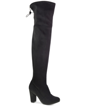 Chinese Laundry Berlin Over-the-Knee Block-Heel Boots Women's Shoes