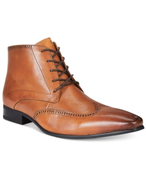 Bar Iii Men's Bryce Wing Tip Boots, Only at Macy's Men's Shoes