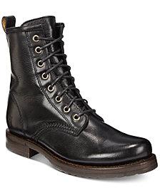 Frye Women's Veronica Lugsole Combat Leather Booties
