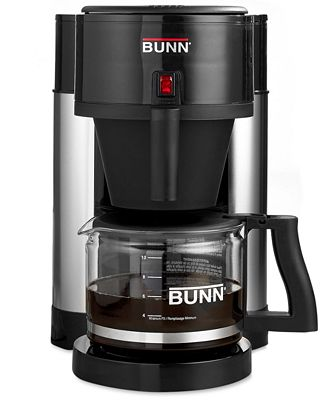 Bunn nhbb velocity brew 10 cup home brewer black coffee for Bunn velocity coffee maker