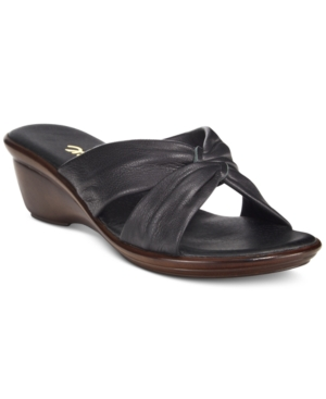 Onex Trista-2 Slide Wedge Sandals Women's Shoes