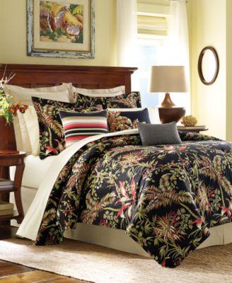 Tommy Bahama Jungle Drive Floral-Print California King Comforter Set
