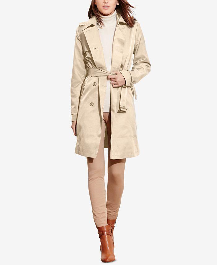 Lauren Ralph Lauren - Double-Breasted Trench Coat