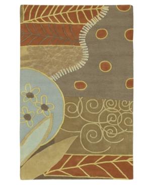 Surya Area Rug, Artist Studio ART-62 Moss 8' Round