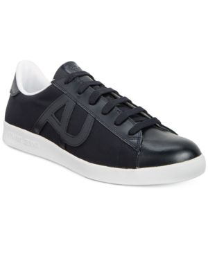 Armani Jeans Men's Low-Top Sneakers Men's Shoes