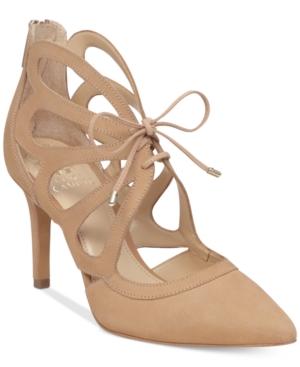 Vince Camuto Ballana Lace-Up Pumps Women's Shoes
