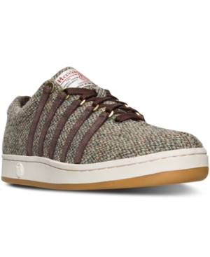 K-Swiss Men's The Classic '88 Harris Tweed Casual Sneakers from Finish Line