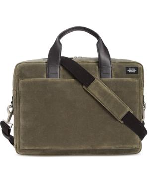 Jack Spade Men's Waxwear Commuter Briefcase
