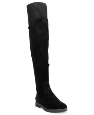 Nine West Alaine Knit Over-The-Knee Boots Women's Shoes