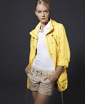 Macy*s - Women's - TOMMY HILFIGER City Anorak :  spring jacket bright anorak