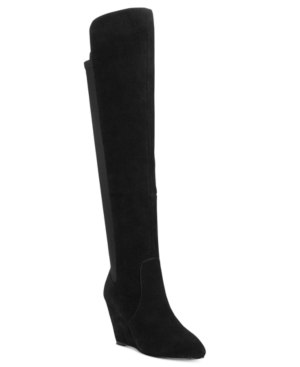 Charles by Charles David Edie Over-The-Knee Wedge Boots Women's Shoes