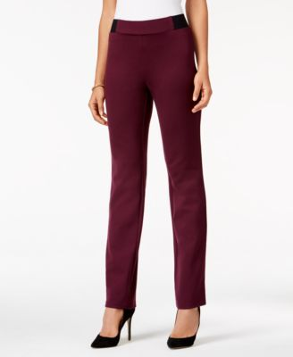 Image of JM Collection Ponte Pull-On Pants, Only at Macy's