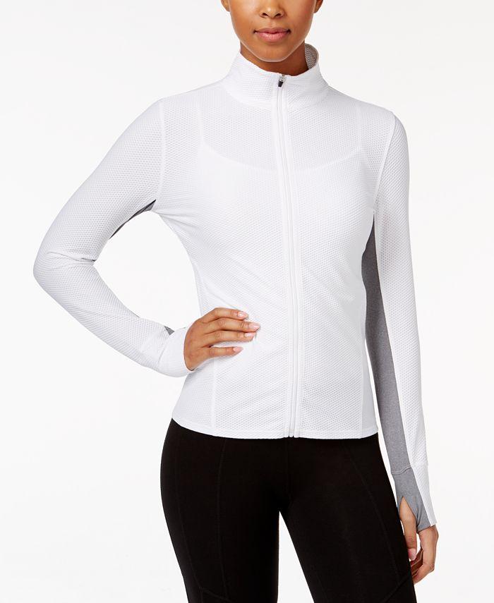 Calvin Klein - Honeycomb Zip-Front Jacket