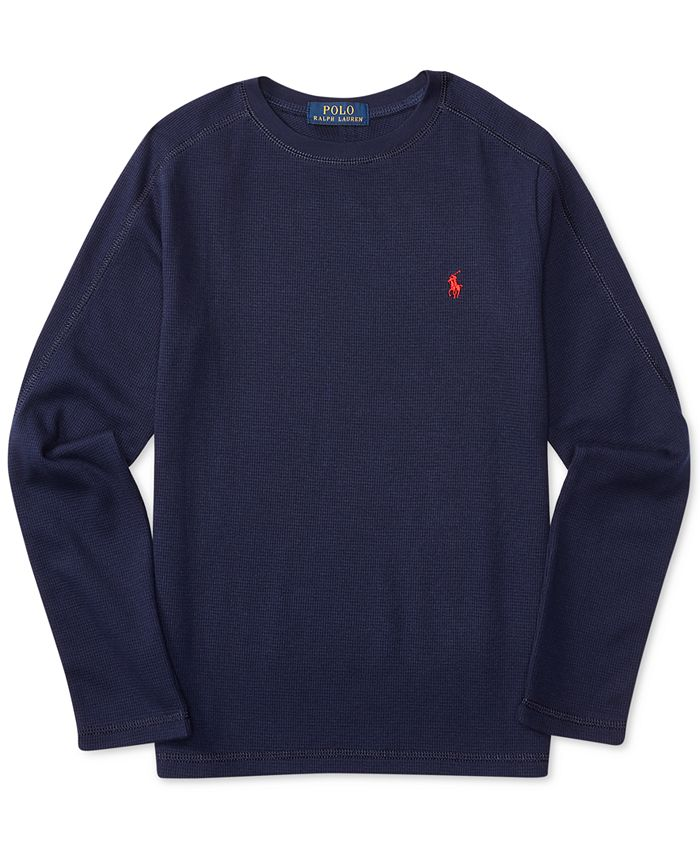 Polo Ralph Lauren Ralph Lauren Thermal Long-Sleeve T-Shirt, Big ...
