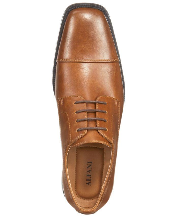 Alfani Men's Adam Cap Toe Oxford, Created for Macy's & Reviews - All Men's Shoes - Men - Macy's