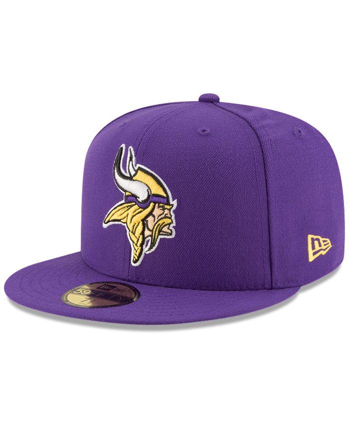 New Era - Minnesota Vikings Team Basic 59FIFTY Cap