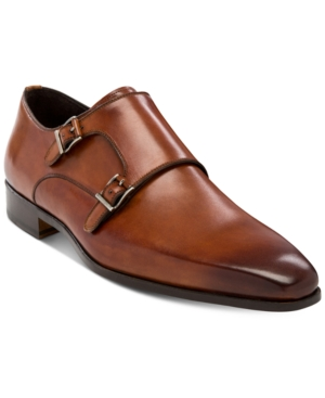 Massimo Emporio Men's Raso Double Monk Plain-Toe Oxfords Men's Shoes