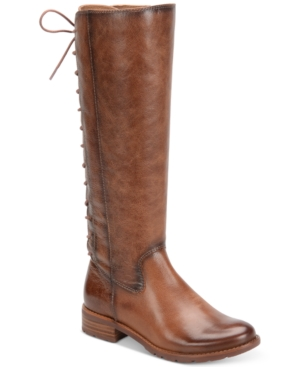 Sofft Sharnell Tall Lace-Up Boots Women's Shoes
