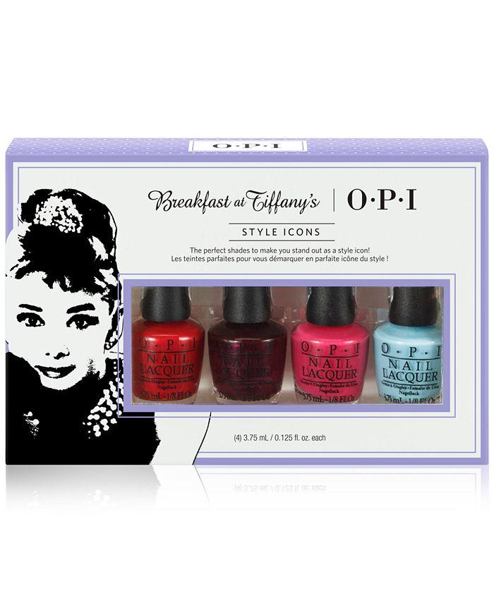 OPI - 4-Pc. Breakfast at Tiffany's Nail Lacquer Mini Set