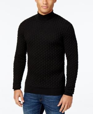 1960s Mens Shirts- Dress, Mod, T-Shirt, Turtleneck Sean John Mens Textured Mock Turtleneck Sweater $59.62 AT vintagedancer.com