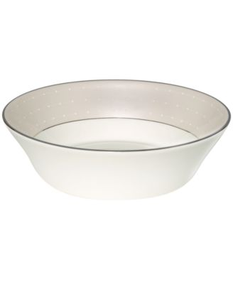 Monique Lhuillier Waterford Dinnerware, Etoile Platinum All Purpose Bowl