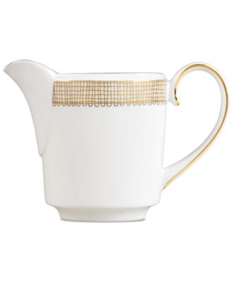 Vera Wang Wedgwood Gilded Weave Gold Creamer, Imperial